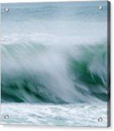 Abstract Soft Waves Acrylic Print