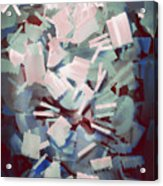 Abstract Stone Chaos Acrylic Print