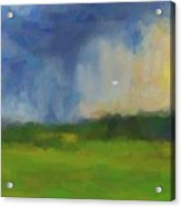 Abstract Stormy Landscape Acrylic Print