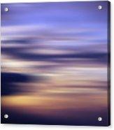 Abstract Sunset Acrylic Print