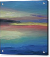 Abstract Sunset Acrylic Print