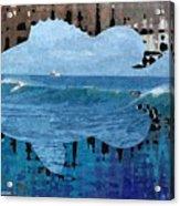 Abstract Surf Acrylic Print