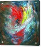 Abstract Surfer Acrylic Print