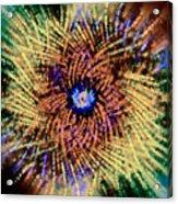 Abstract Swirl 01 Acrylic Print