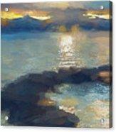 Abstract Tahoe Acrylic Print