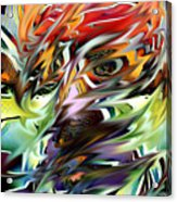 Abstract Thought Acrylic Print