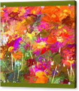 Abstract Thought Processes Acrylic Print