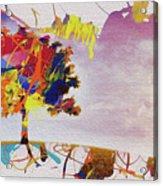 Abstract Tree 33w Acrylic Print