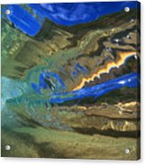 Abstract Underwater View Acrylic Print