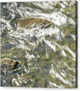 Abstract Water Art Vi Acrylic Print
