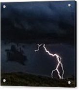 Abstract Wicked Lightning 5 Acrylic Print