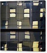 Abstract Window Reflections - Nyc Acrylic Print
