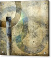 Abstract With Circles Acrylic Print
