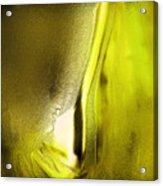 Abstract Yellow Acrylic Print