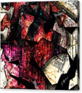 Abstracta_21 Stratavari Moderna Acrylic Print