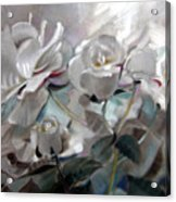 Abstracted Roses Acrylic Print