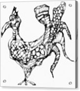 Abstraction 1228 - Marucii Acrylic Print