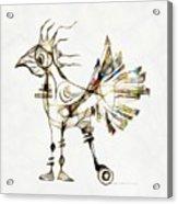Abstraction 2185 Acrylic Print