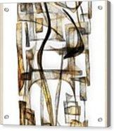 Abstraction 2431 Acrylic Print