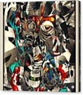 Abstraction 2502 Acrylic Print
