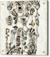 Abstraction 2570 Acrylic Print