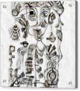 Abstraction 2573 Acrylic Print
