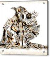 Abstraction 2741 Acrylic Print