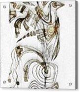 Abstraction 2829 Acrylic Print