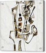 Abstraction 2844 Acrylic Print
