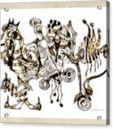 Abstraction 2869 Acrylic Print
