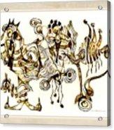Abstraction 2872 Acrylic Print