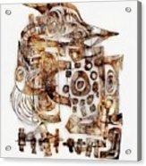 Abstraction 3052 Acrylic Print