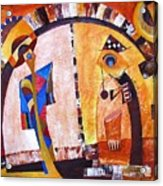 Abstraction 3217 Acrylic Print