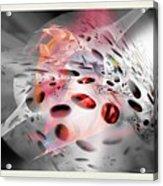 Abstraction 3307 Acrylic Print