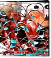 Abstraction 3422 Acrylic Print