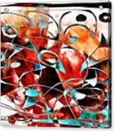 Abstraction 3424 Acrylic Print