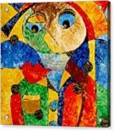 Abstraction 770 - Marucii Acrylic Print