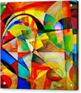 Abstraction 776 - Marucii Acrylic Print
