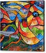 Abstraction 787 - Marucii Acrylic Print