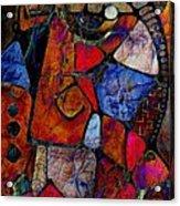 Abstraction 858 -marucii Acrylic Print
