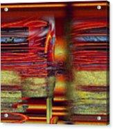 Abstrakt 53 Acrylic Print