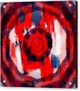 Abstraktes Kaleidoskop Acrylic Print