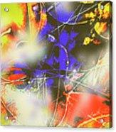 Abstrato Zzzm Acrylic Print