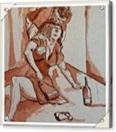 Drunken Wife Acrylic Print