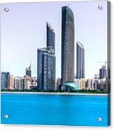 Abu Dhabi Corniche Acrylic Print