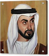 Abu Dhabi Crown Prince Acrylic Print