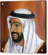 Abu Dhabi  Acrylic Print