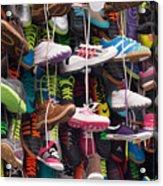 Abundance Of Shoes Acrylic Print