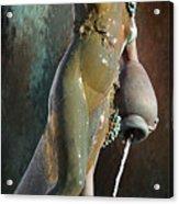Abundance Statue Acrylic Print by Robert Smith
