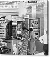 Ac Movie Theater Patrons Acrylic Print